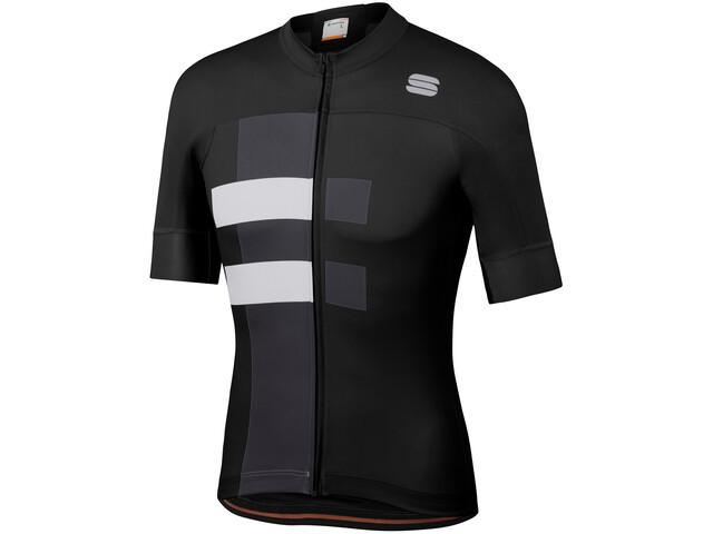 Sportful Bold Maillot de cyclisme Homme, black white